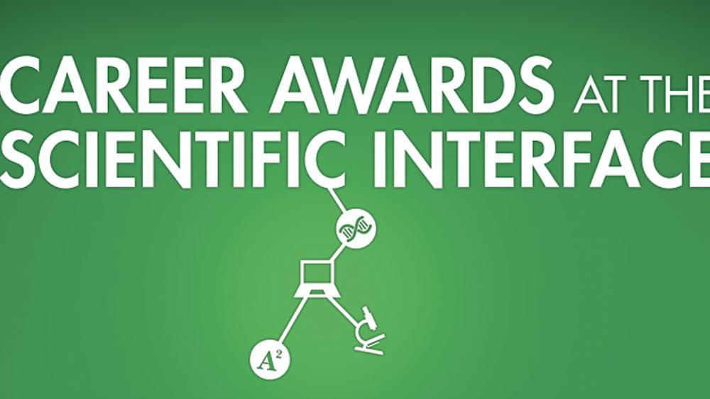 Career Awards at the Scientific Interface banner